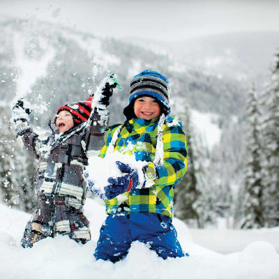 Kids Love Snow