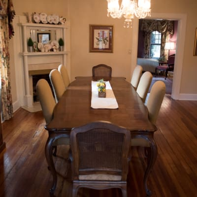 interior formal dining area