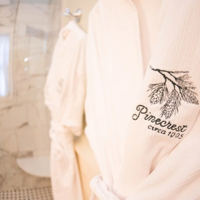 custom pinecrest bath robes