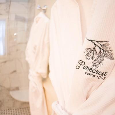 custom pinecrest bath robes