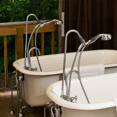 outdoor tubs