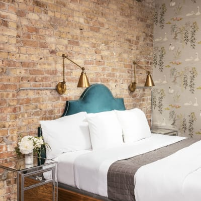 Unique accommodations at Wicker Park Inn