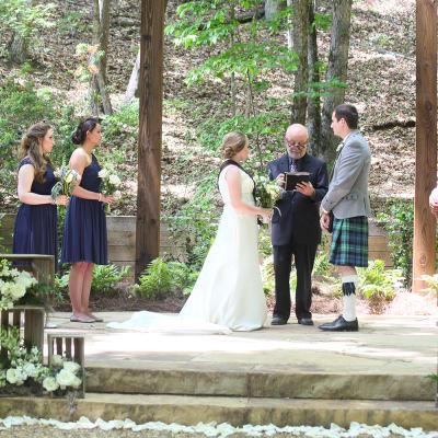 Sylvan Valley Lodge & Cellars' wedding venue can host indoor or outdoor weddings