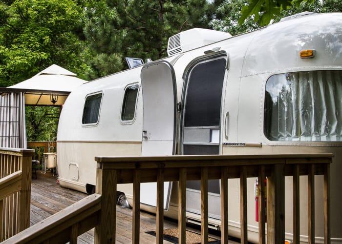 the argosy trailer - unique accommodations