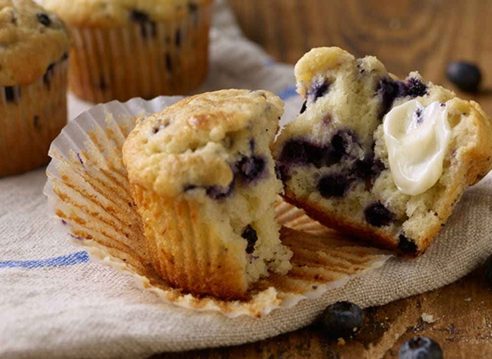 Our Blueberry-Pecan Muffin Recipe