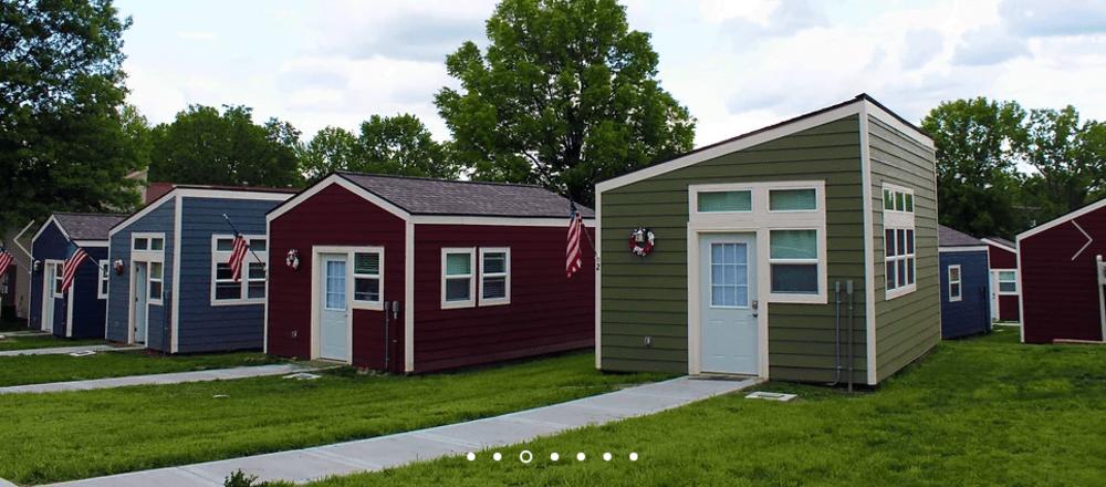 Tiny Houses for Veterans