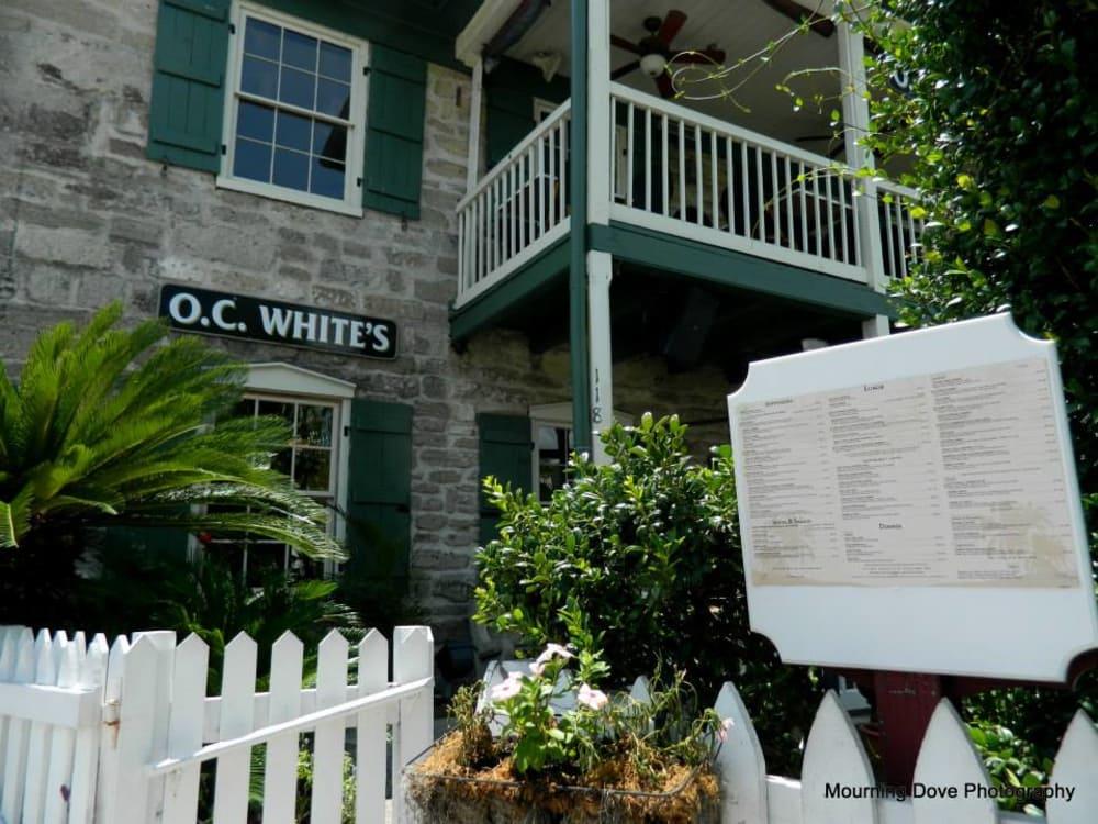 St Augustine Bayfront Restaurant - O.C. White's