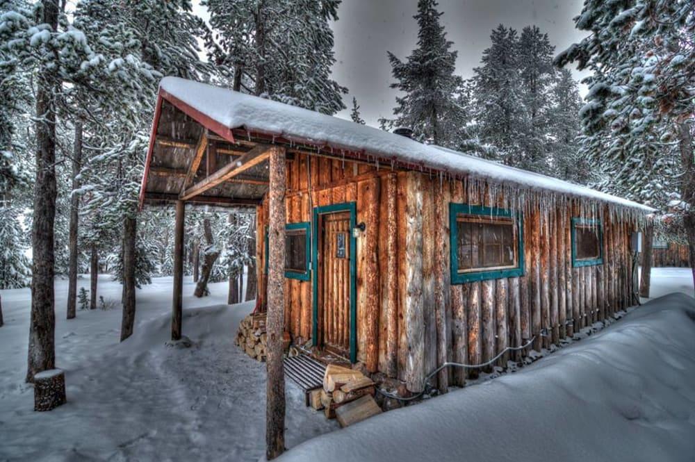 Rustic Cabins on Paulina Lake
