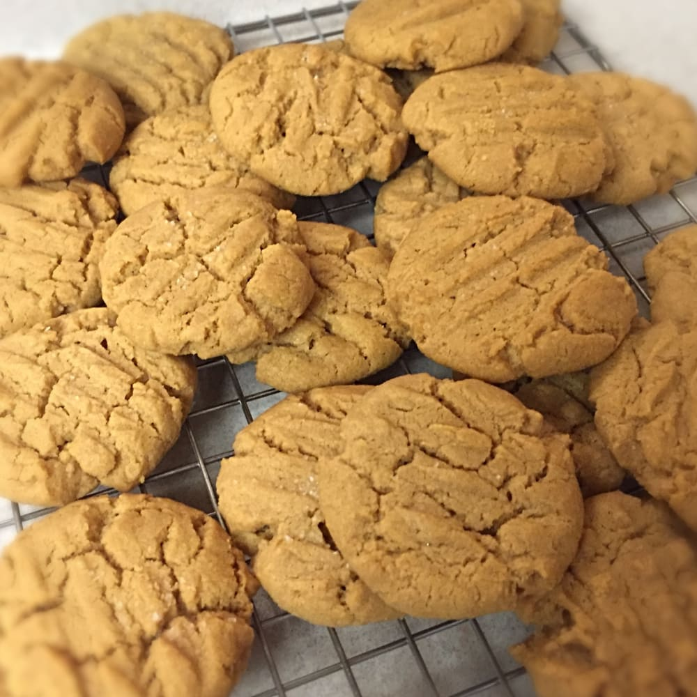 In the Kitchen with Deana - Gluten Free Peanut Butter Cookies