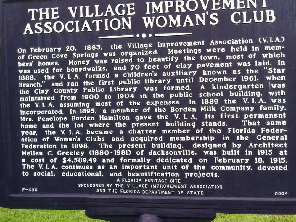 Historic Preservation in Green Cove Springs