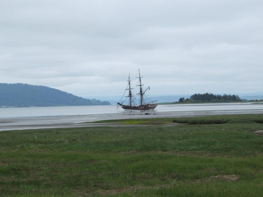 Tall Ships in Ilwaco, Washington