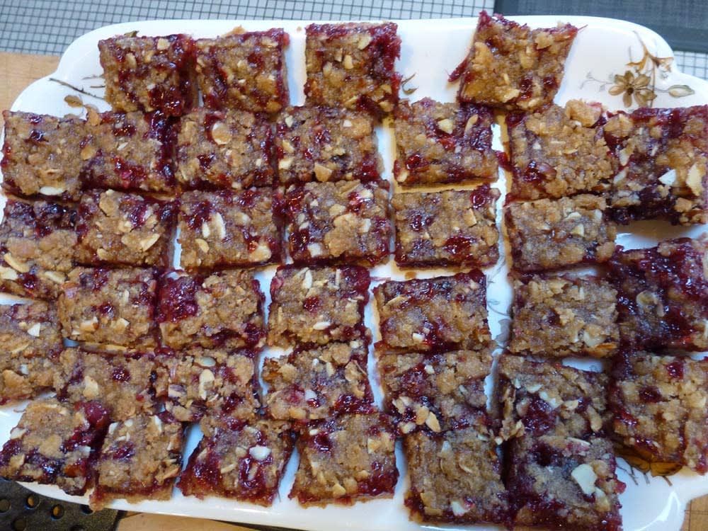 Cranberry Almond Bars