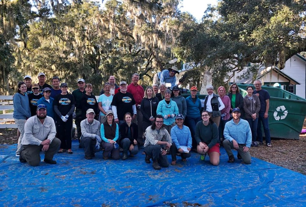 Marine Debris Cleanup - A Guest Submission by Michelle Anderson of Jekyll Island, GA