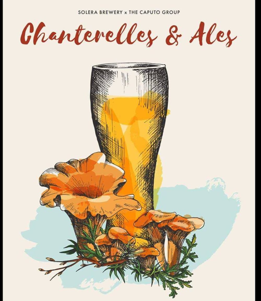 Chanterelles and Ales in Parkdale Oregon
