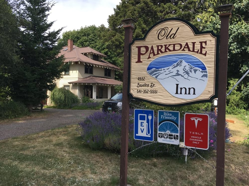 One Tank or Charge away from the Old Parkdale Inn