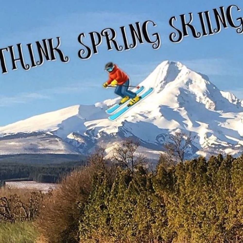 Spring Ski on Mt. Hood