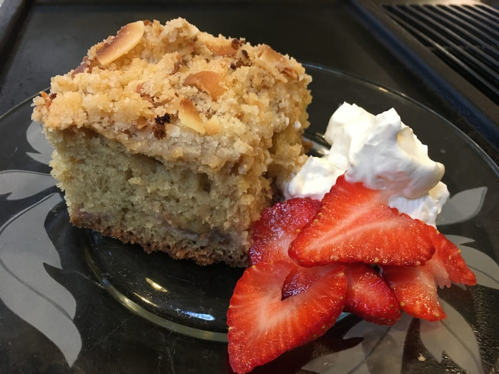 A Northwest Tasty Coffee Cake ~ Strawberry Rhubarb