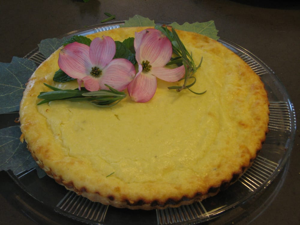 Rogue Creamery Lavender Cheddar Spring Tart
