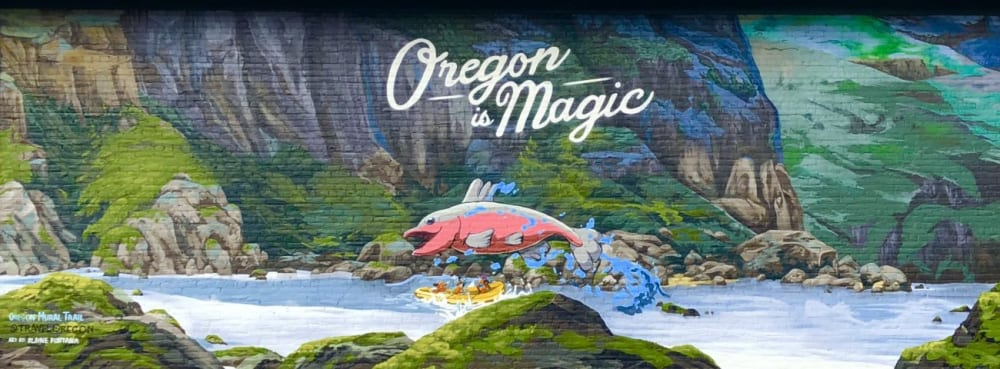 Oregon is Magic in The Dalles
