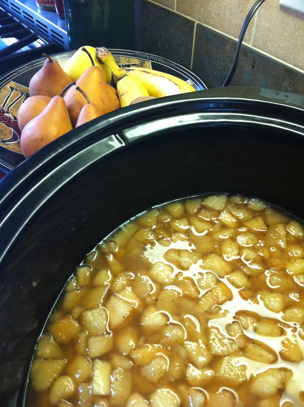 Making Butter with Hood River Valley Pears in the Crockpot