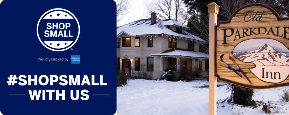 Small Business Saturday November Celebration at the Old Parkdale Inn