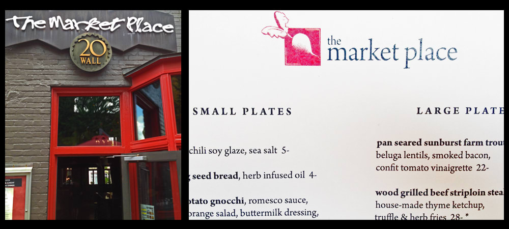 Market Place, Swanky Downtown Asheville Restaurant