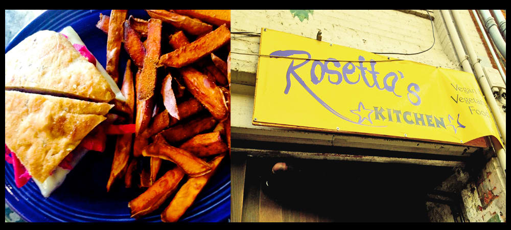 Rosetta's Kitchen – Vegan Hot Spot in Downtown Asheville