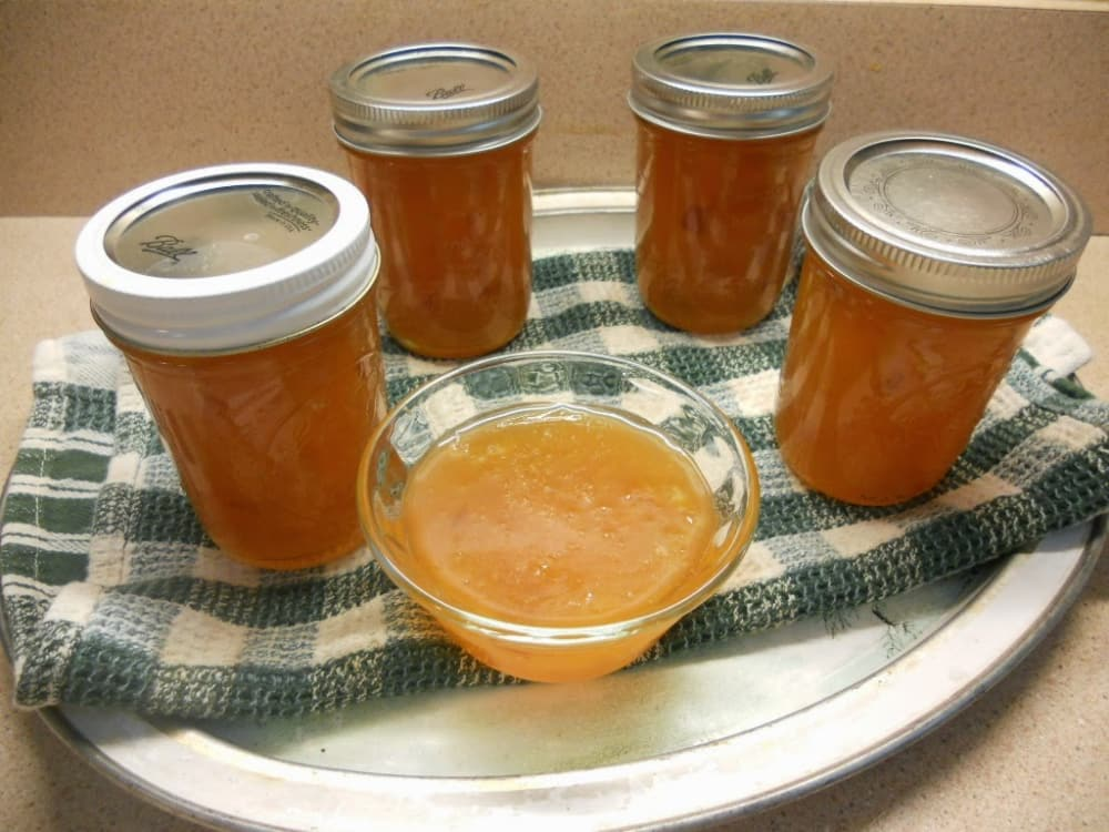 Recipe for Easy Peach and Apricot Jam