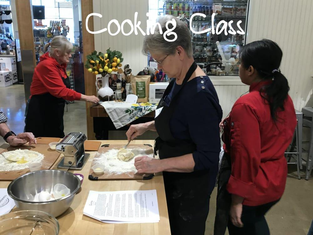 Cooking Class at Ann Arbor's Sur la Table