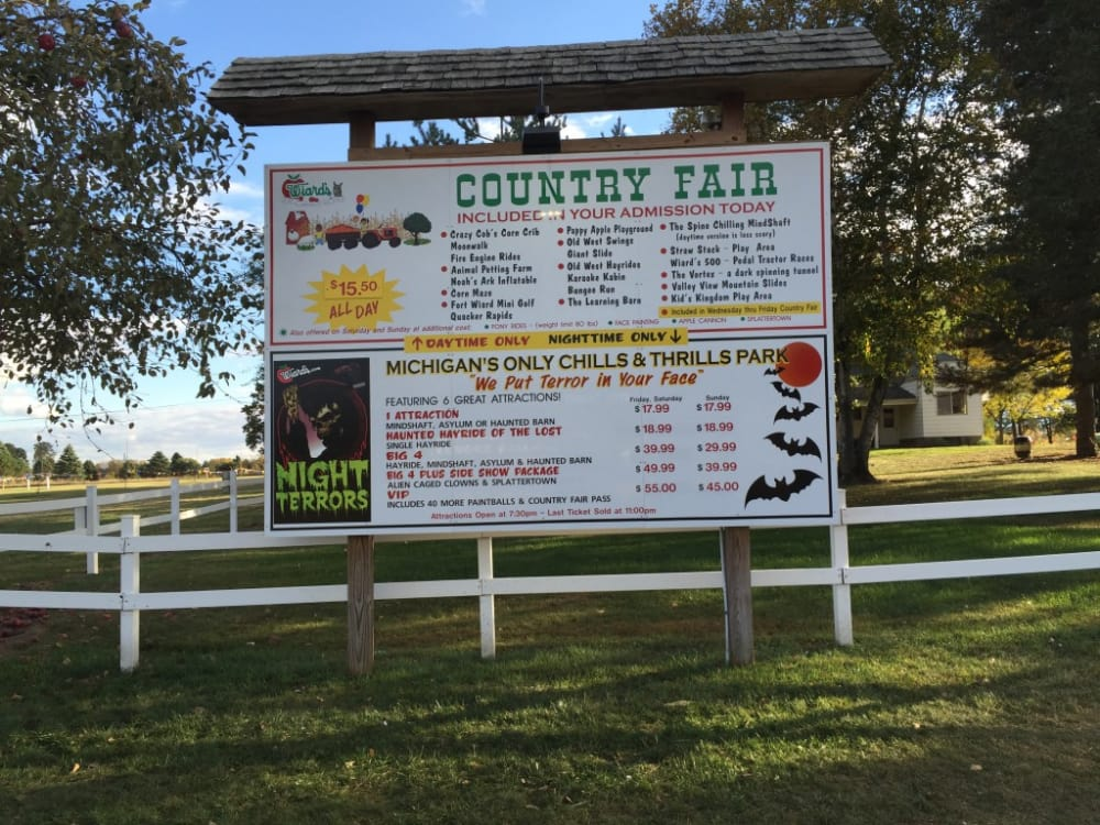 A VISIT TO WIARD'S ORCHARD AND COUNTRY FAIR IN OCTOBER