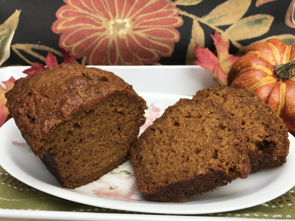 Ann Arbor -Ypsilanti area Parish House Inn Fall recipes:Pumpkin Apple Bread