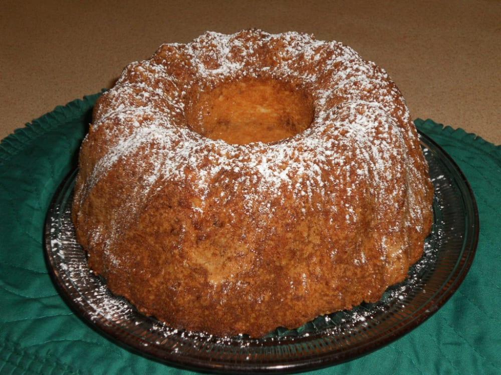 Sour Cream Coffee cake recipe from the Parish House Inn, an Ann Arbor/Ypsilanti area bed andbreakfas