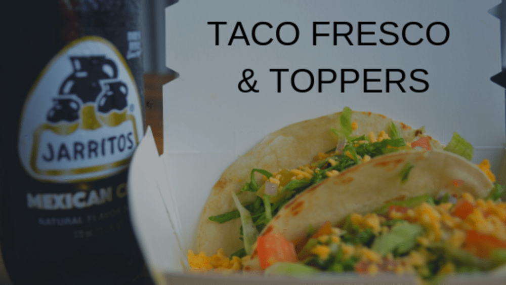 Dinner at Taco Fresco & Toppers
