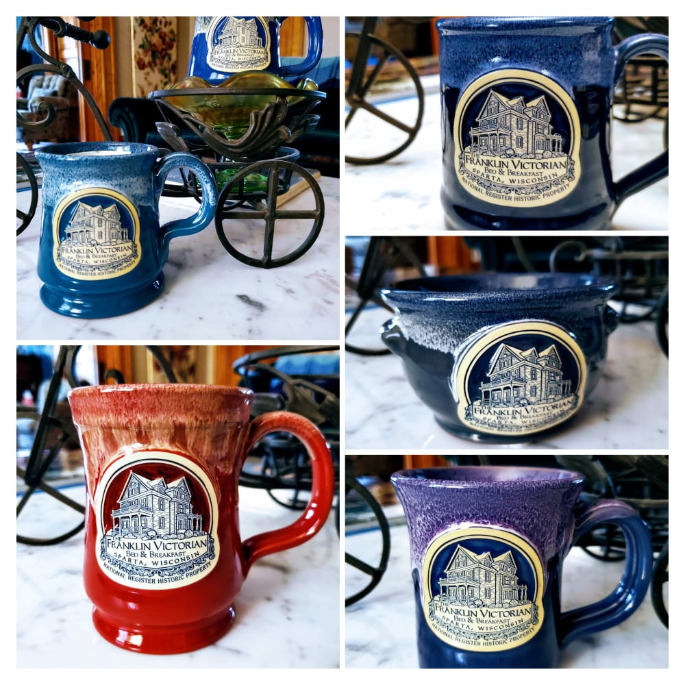 NEW COLLECTION of Deneen Pottery Items in our Gift Shop~ Check it Out!