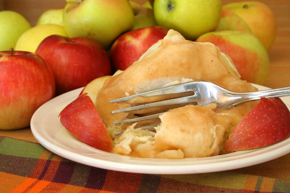 Quick Apple Dumplings