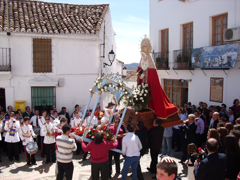 Easter in Andalucia in general and Cartajima in particular