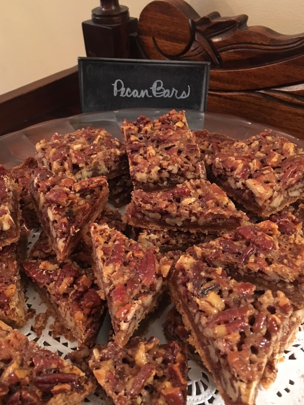 Most Requested Cookie:  Pecan Bars