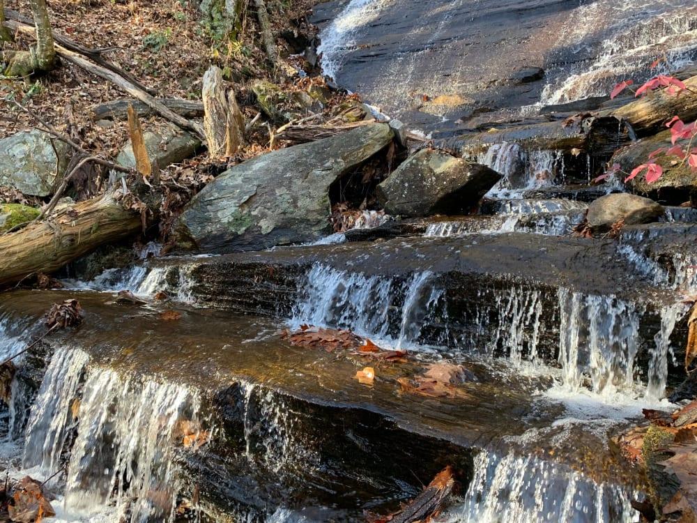 One Hike, FOUR Waterfalls!