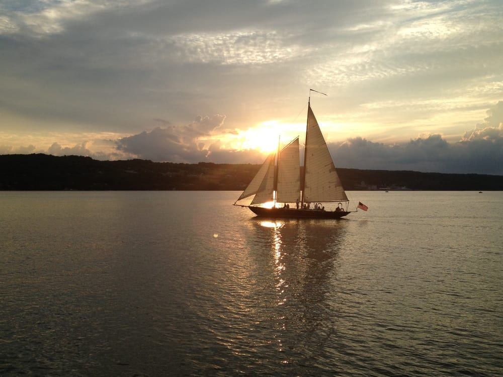 Come to the Finger Lakes to Sail away