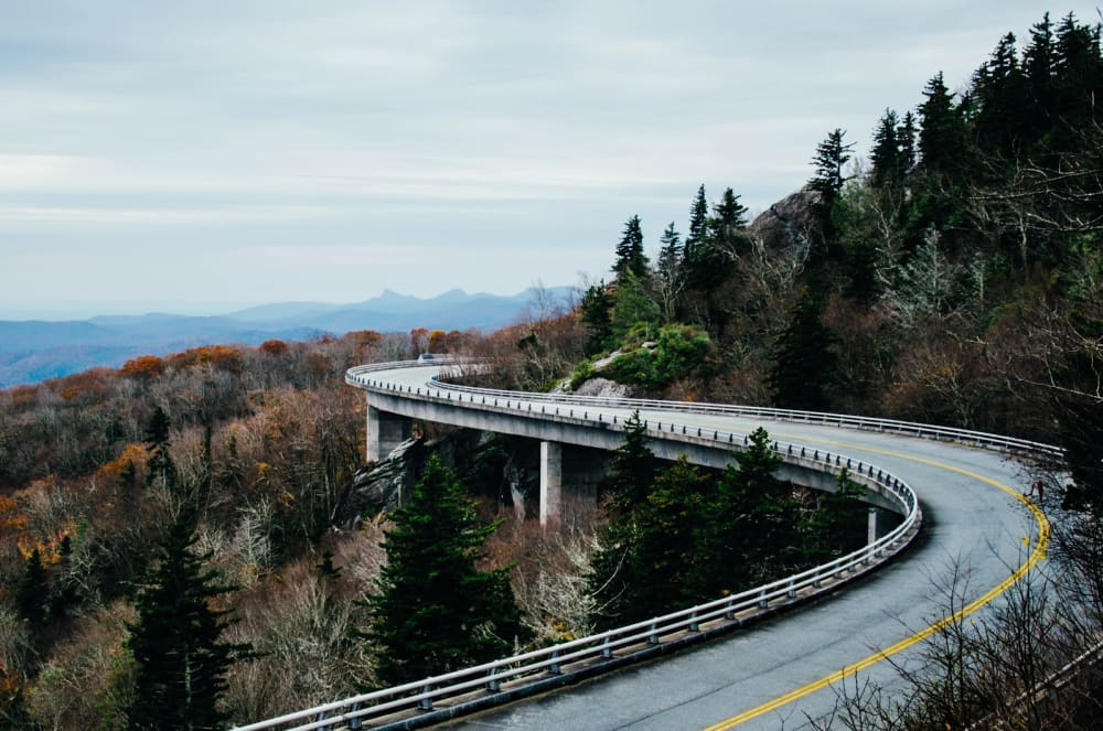 The Most Scenic Drives To, From, & Around Asheville