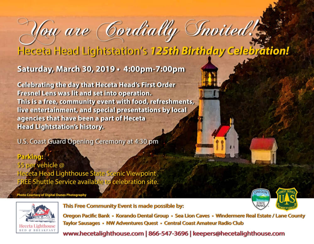 125th Birthday Party March 30, 4-7