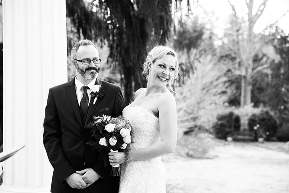 Christy & Jim's Albemarle Inn Wedding