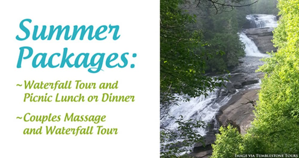 Summer Waterfall Packages
