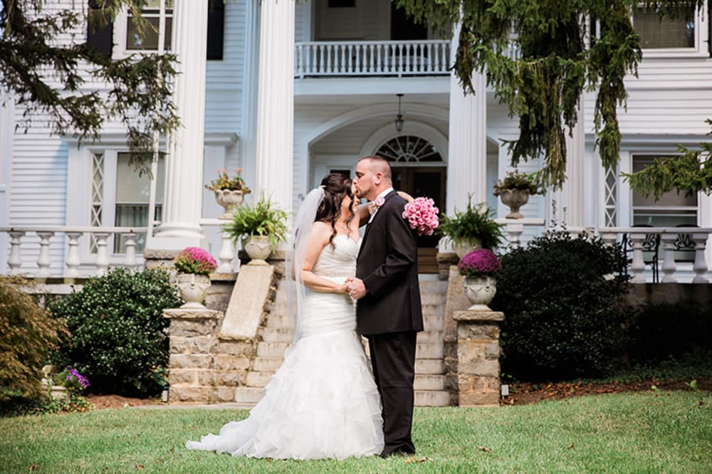 Jen & Matt's Albemarle Inn Wedding