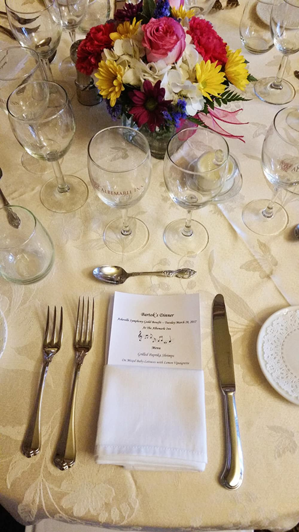 Bartok's Symphony Dinner