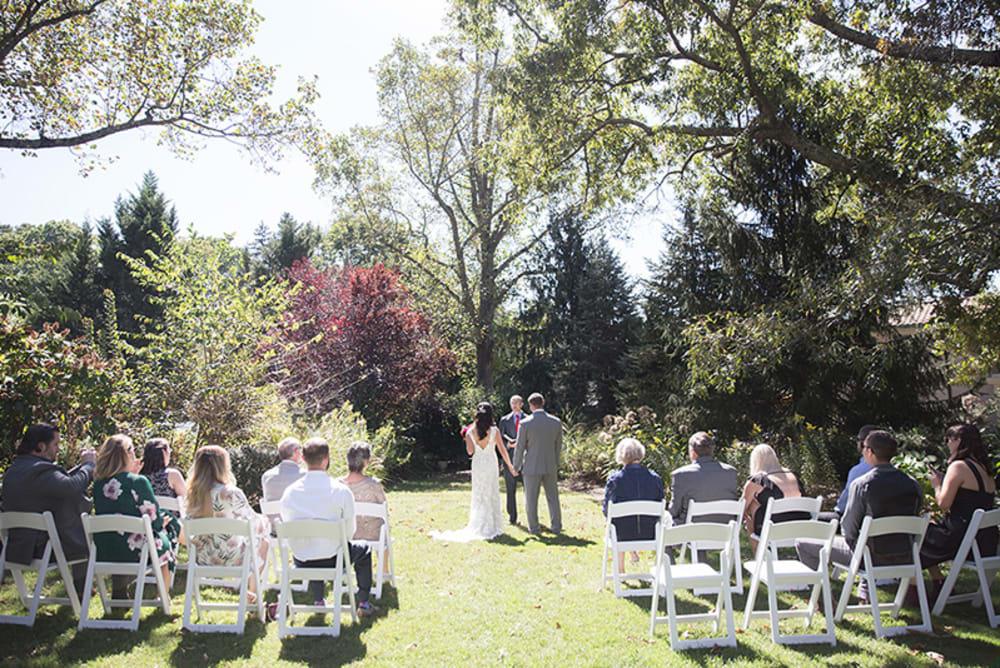Garden Wedding Views