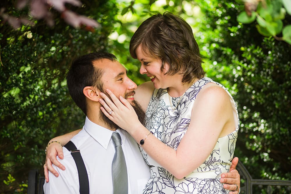 Albemarle Inn Elopement: Mary Sandra and Christopher