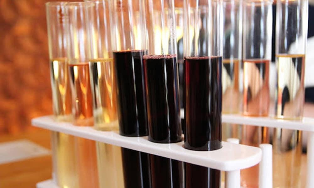 New Blending Lab at Skyline Vineyard in Washington Virginia