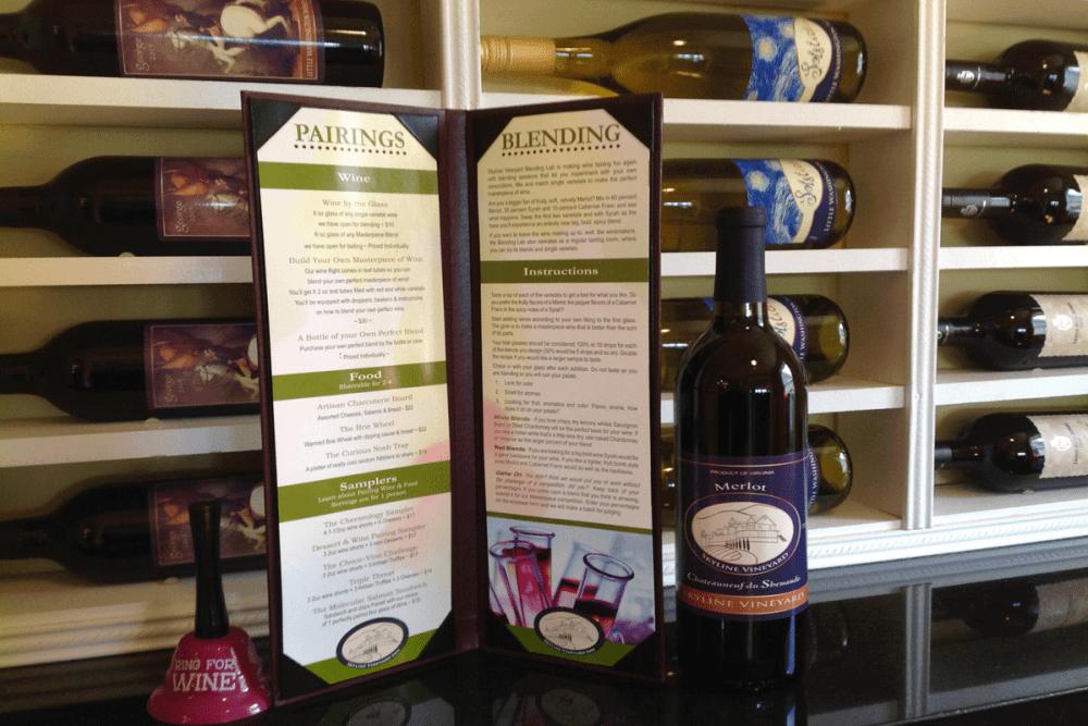New Skyline Vineyard Tasting Room