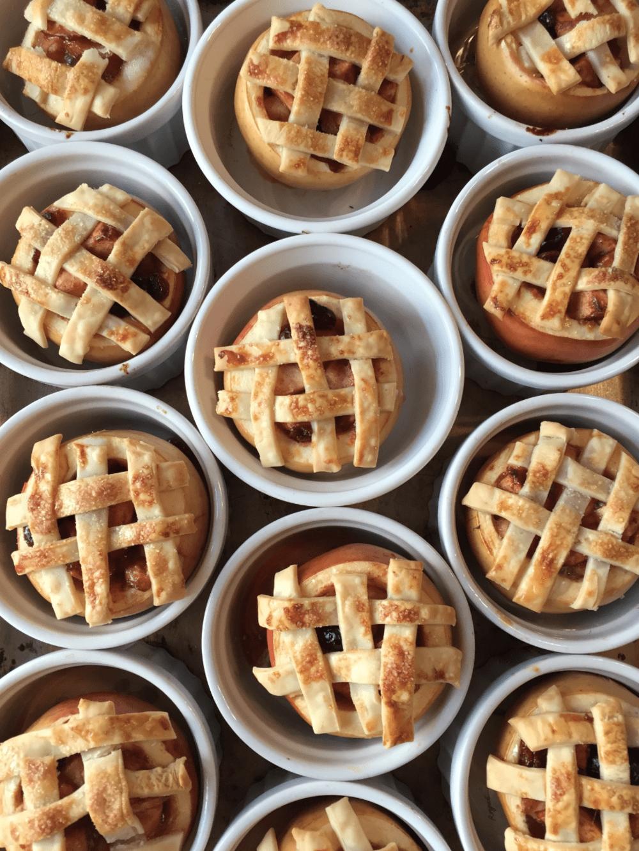 Lattice Baked Apple Recipe